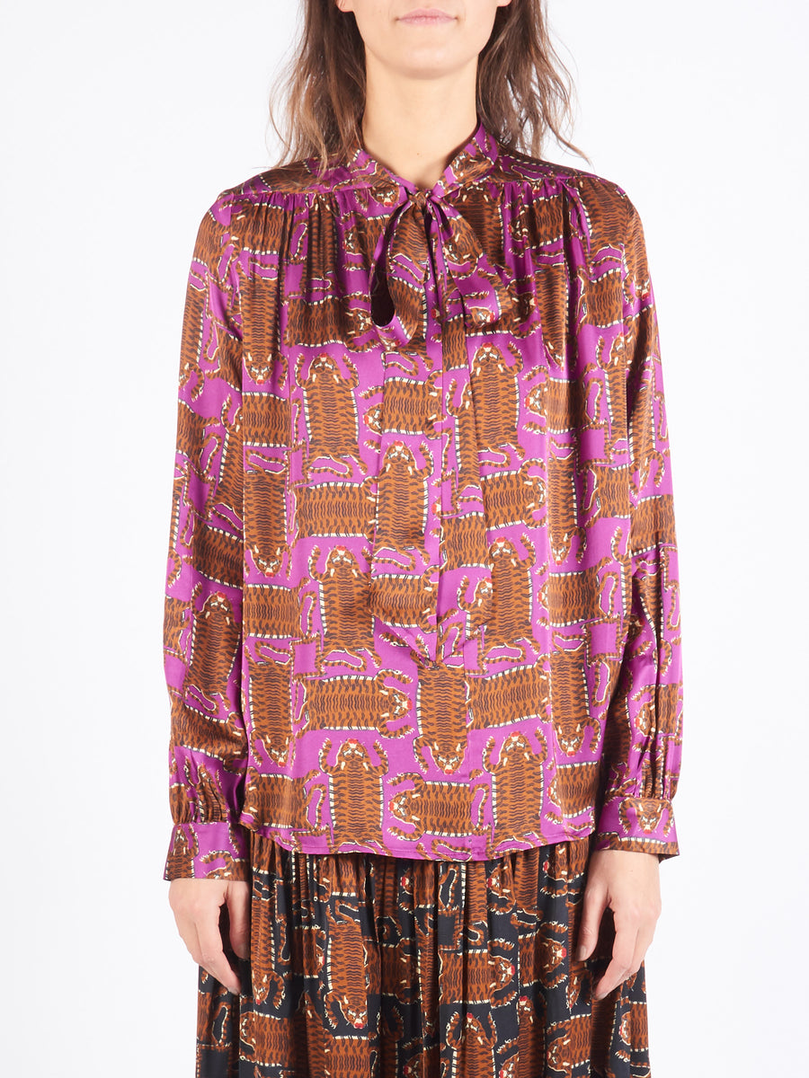 Purple Upland Blouse