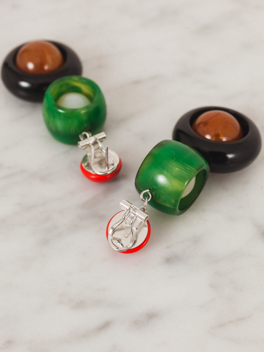 rachel-comey-red-green-ladybird-earrings