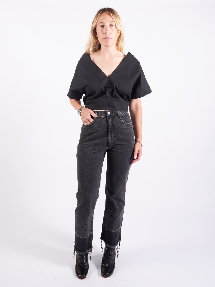 Rachel-Comey-Washed-Black-Slim-Legion-Pants-On-Body