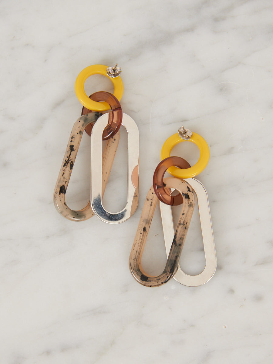 Rachel-Comey-Yellow-Grey-Sour-Earrings
