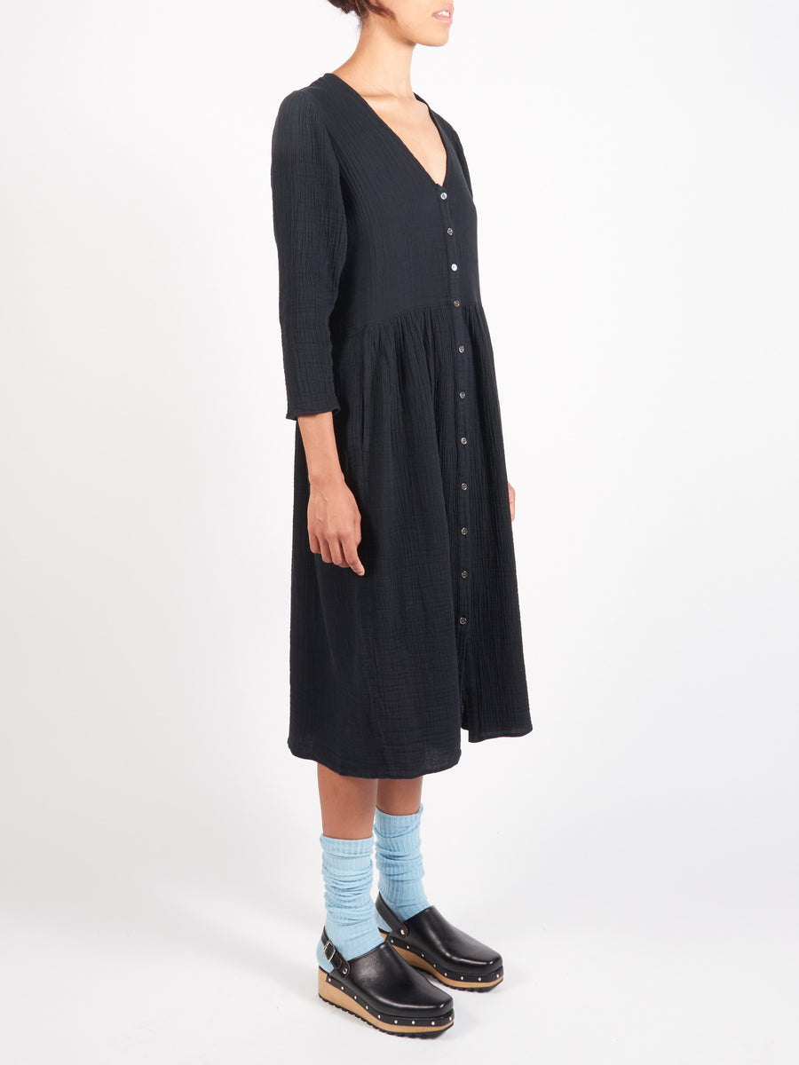 raquel-allegra-black-country-dress-on-body