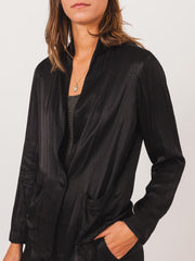 raquel-allegra-black-shrunken-blazer-on-body