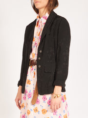 raquel-allegra-black-slim-shawl-blazer-on-body