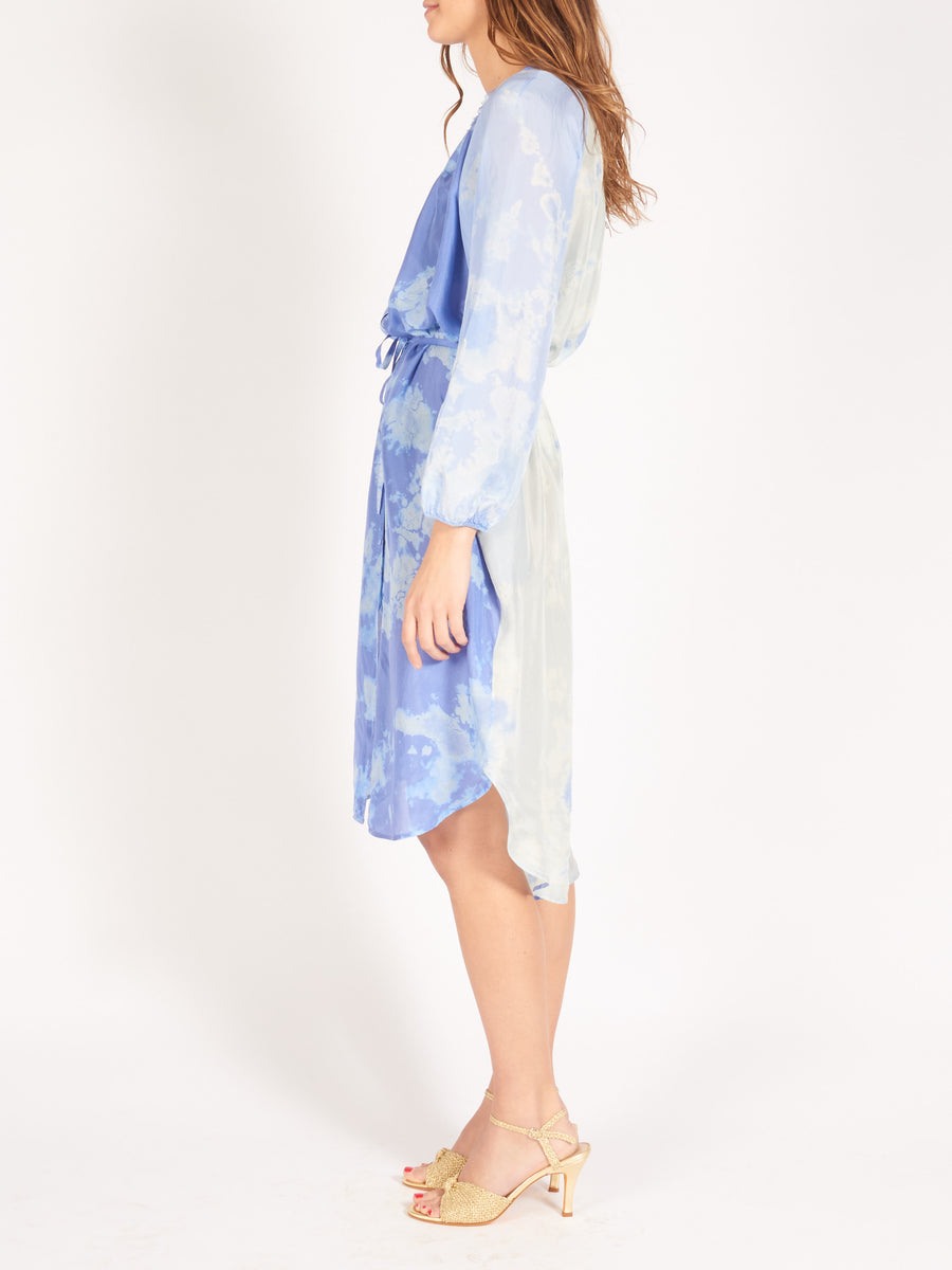 Raquel-Allegra-Blue-Sky-Poet-Combo-Dress-on-body