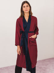 raquel-allegra-foulard-wrap-trench-dress-on-body
