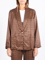 Golden Shawl Blazer