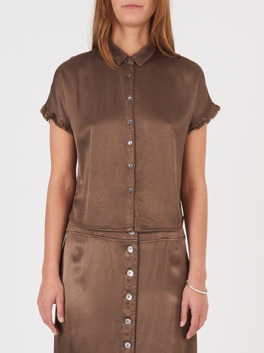 Raquel-Allegra-Moss-Little-Button-Up-on-body