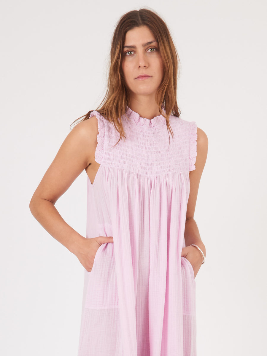 raquel-allegra-orchid-smocked-dress-on-body