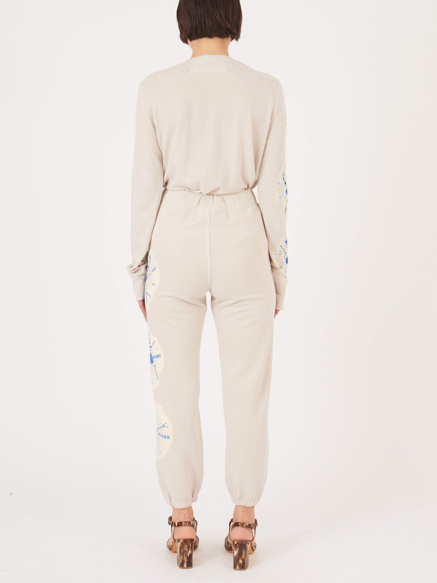 Raquel-Allegra-Saturn-White-Topanga-Sweatpants-on-body