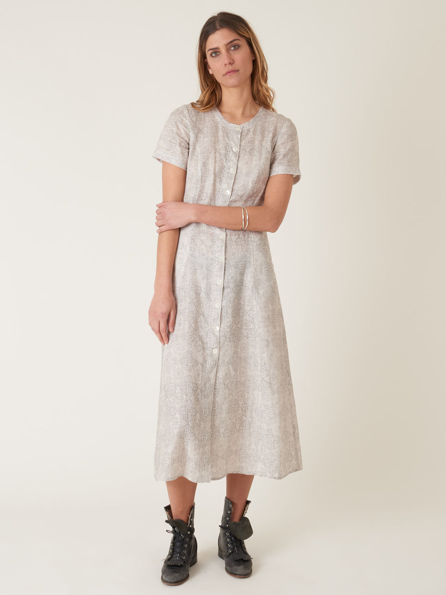 raquel-allegra-silver-big-sweep-dress-on-body