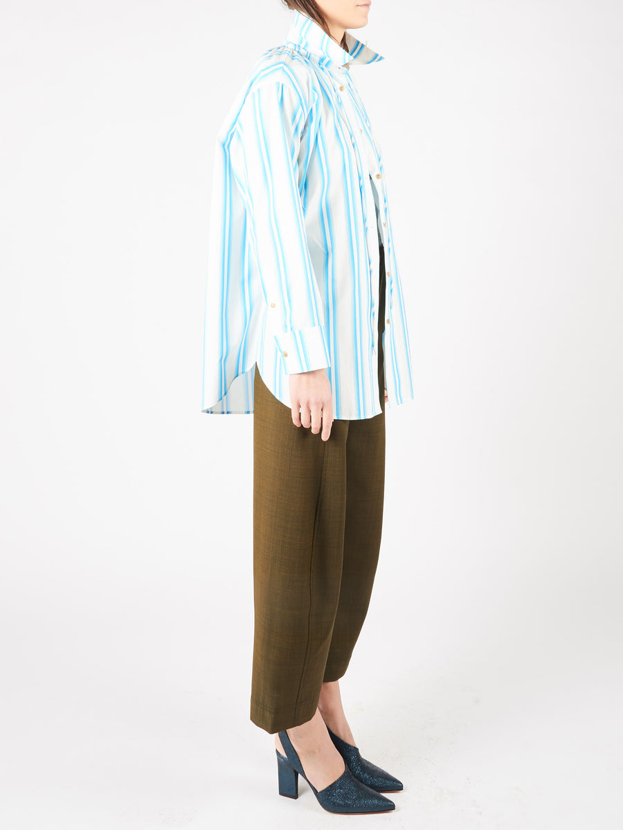 Blue Stripe Ashley Shirt