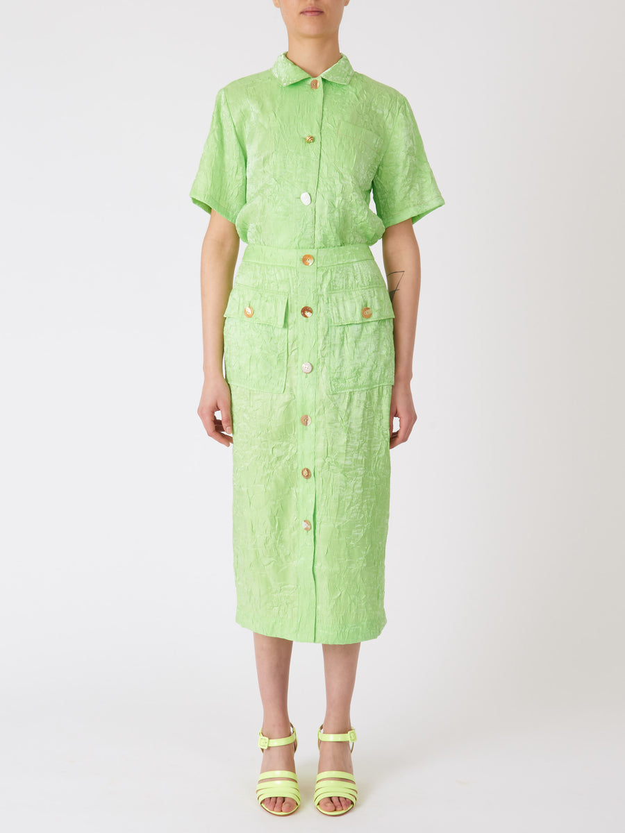 Rejina-Pyo-Lime-Lily-Skirt-on-body