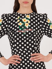 Rixo-Black-Polka-Dot-Daisy-Clemmie-Dress-on-body