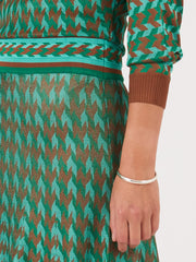 Rixo-Green-Dogtooth-Annie-Dress-on-body