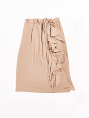 Sand Skirt With Ruffles