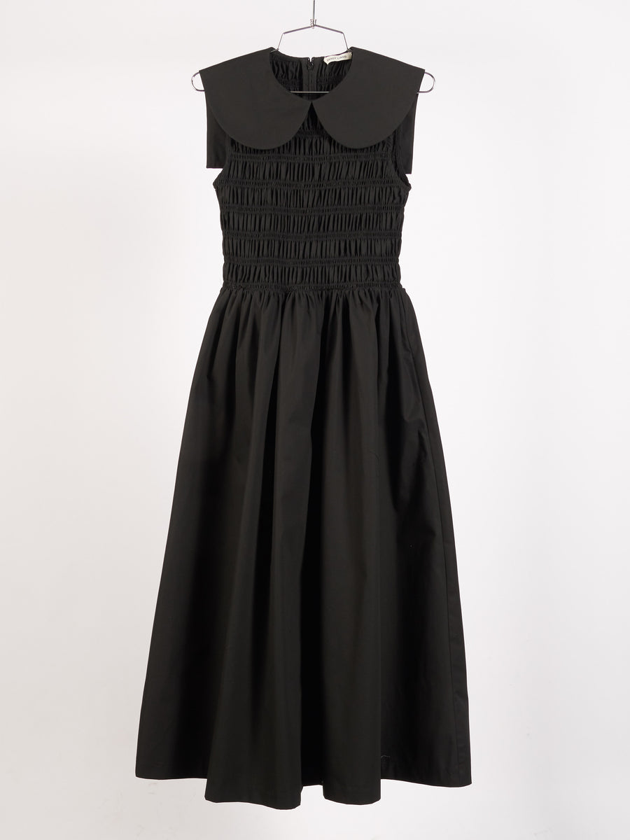 sandy-liang-black-bessie-dress-on-body