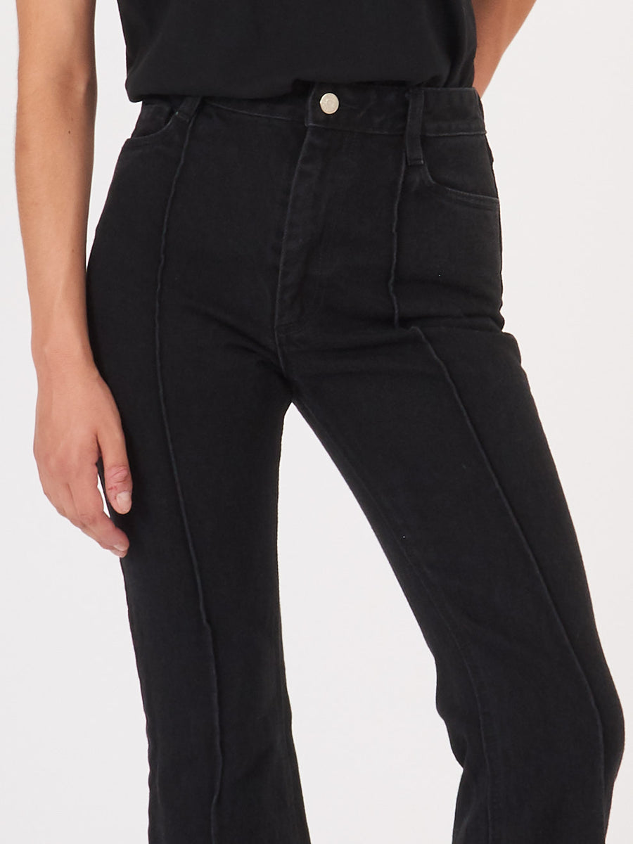 Sandy-Liang-Black-Chancy-Jeans-on-body