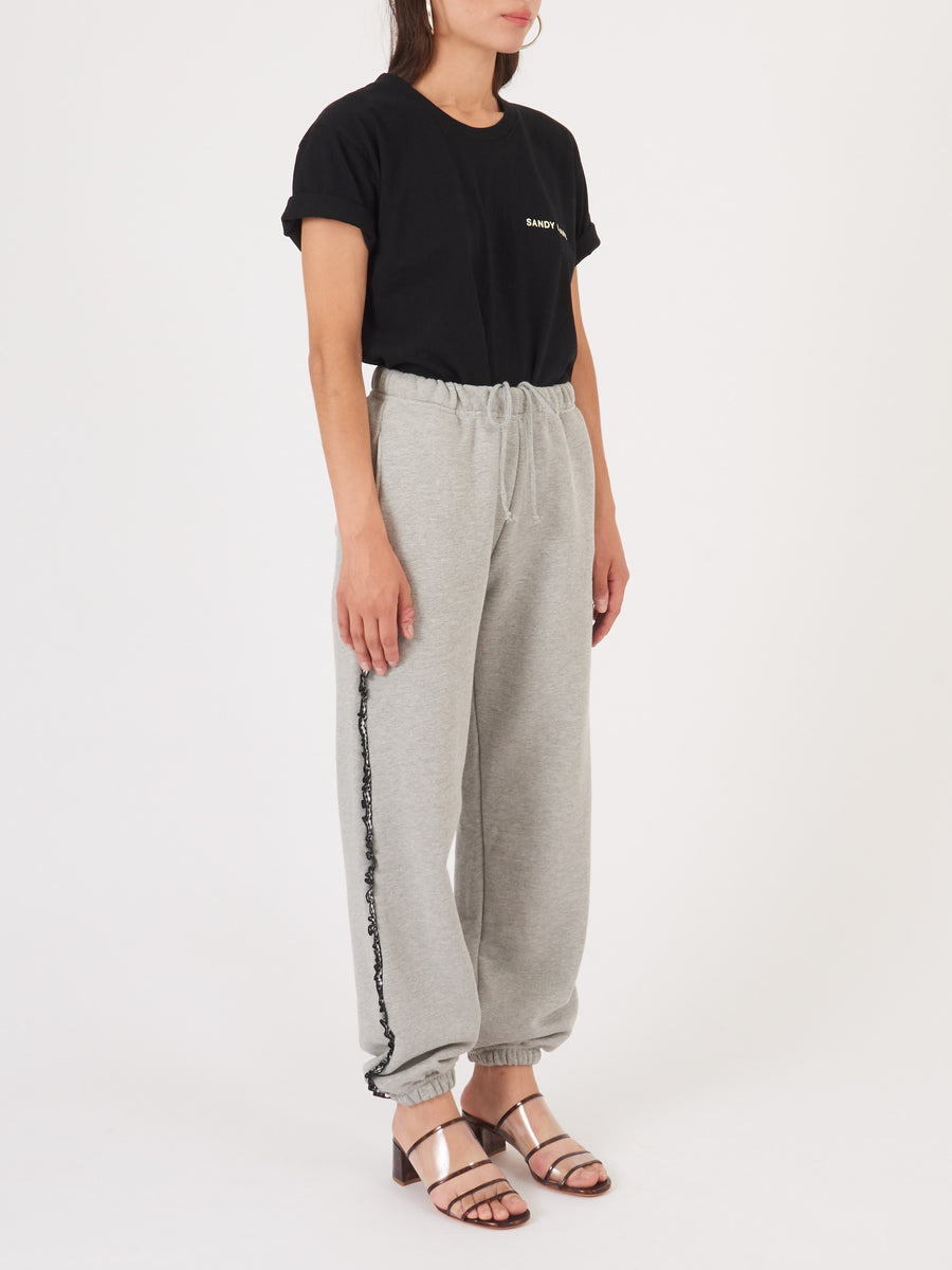 Sandy-Liang-Heather-Grey-Hilda-Sweatpants-on-body