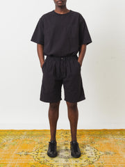 Saturdays-NYC-Black-Keigo-Crepe-Short-on-body