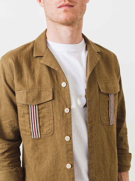 Desert Brown Leisure Notch Shirt