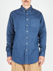 Dark Blue Overdyed One BD Shirt