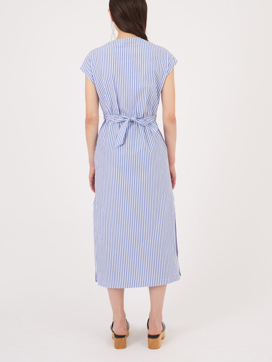 Shaina-Mote-Thin-Blue-Stripe-Luqa-Dress-on-body