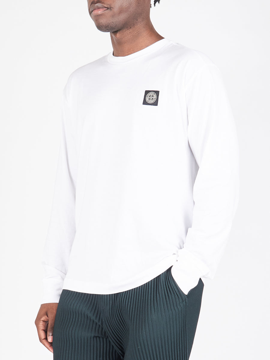 White LS T-Shirt