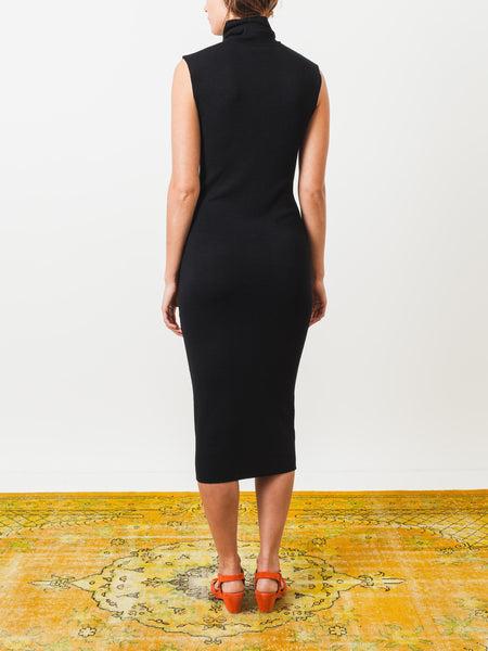 totem-black-turtleneck-dress-on-body