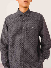 Très-Bien-Jacquard-Work-Shirt-on-body