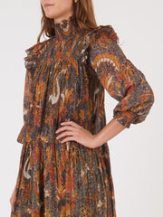 Ulla-Johnson-Amber-Constantine-Dress-on-body