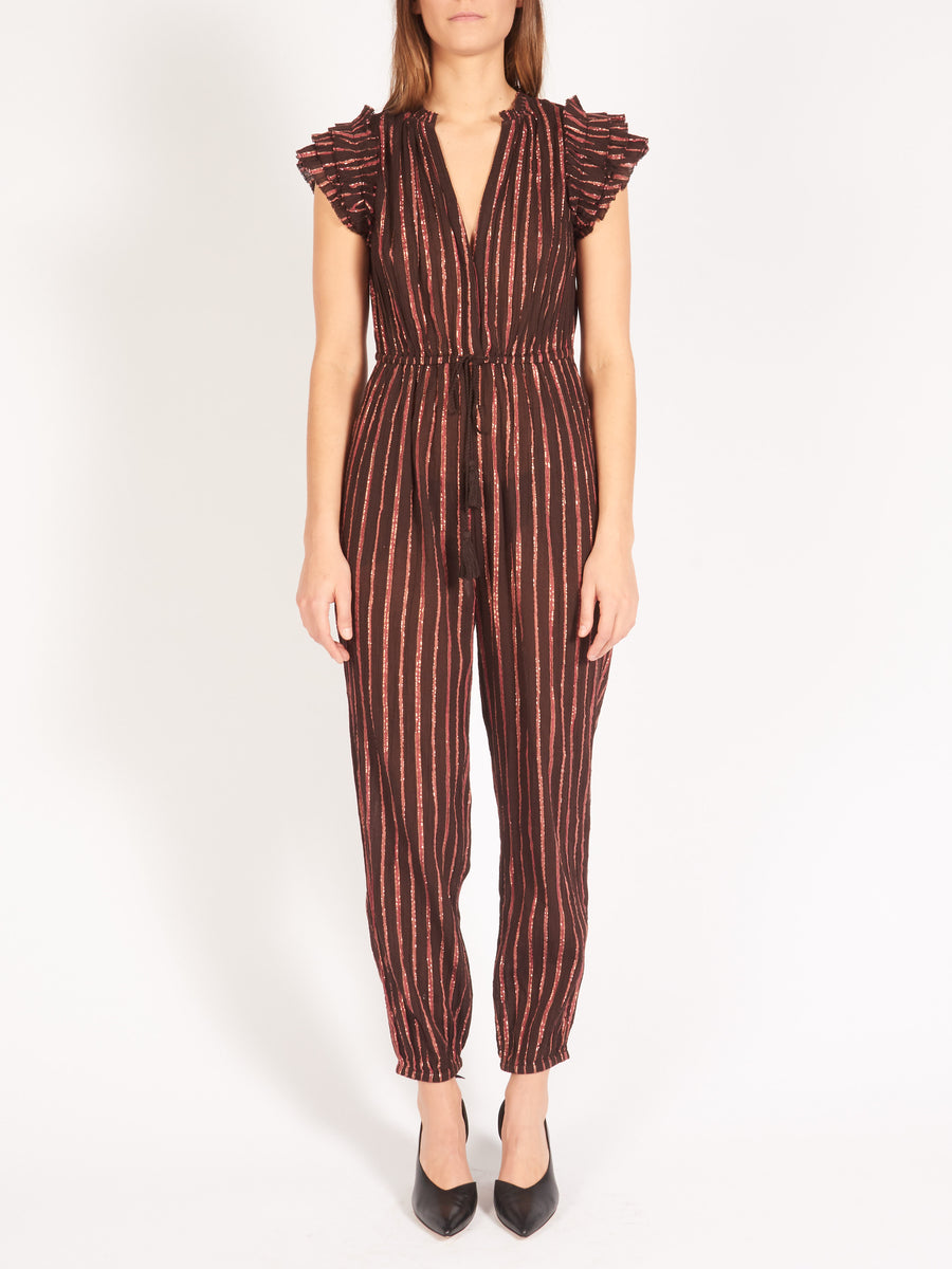 ulla-johnson-chocolate-elio-jumpsuit-on-body