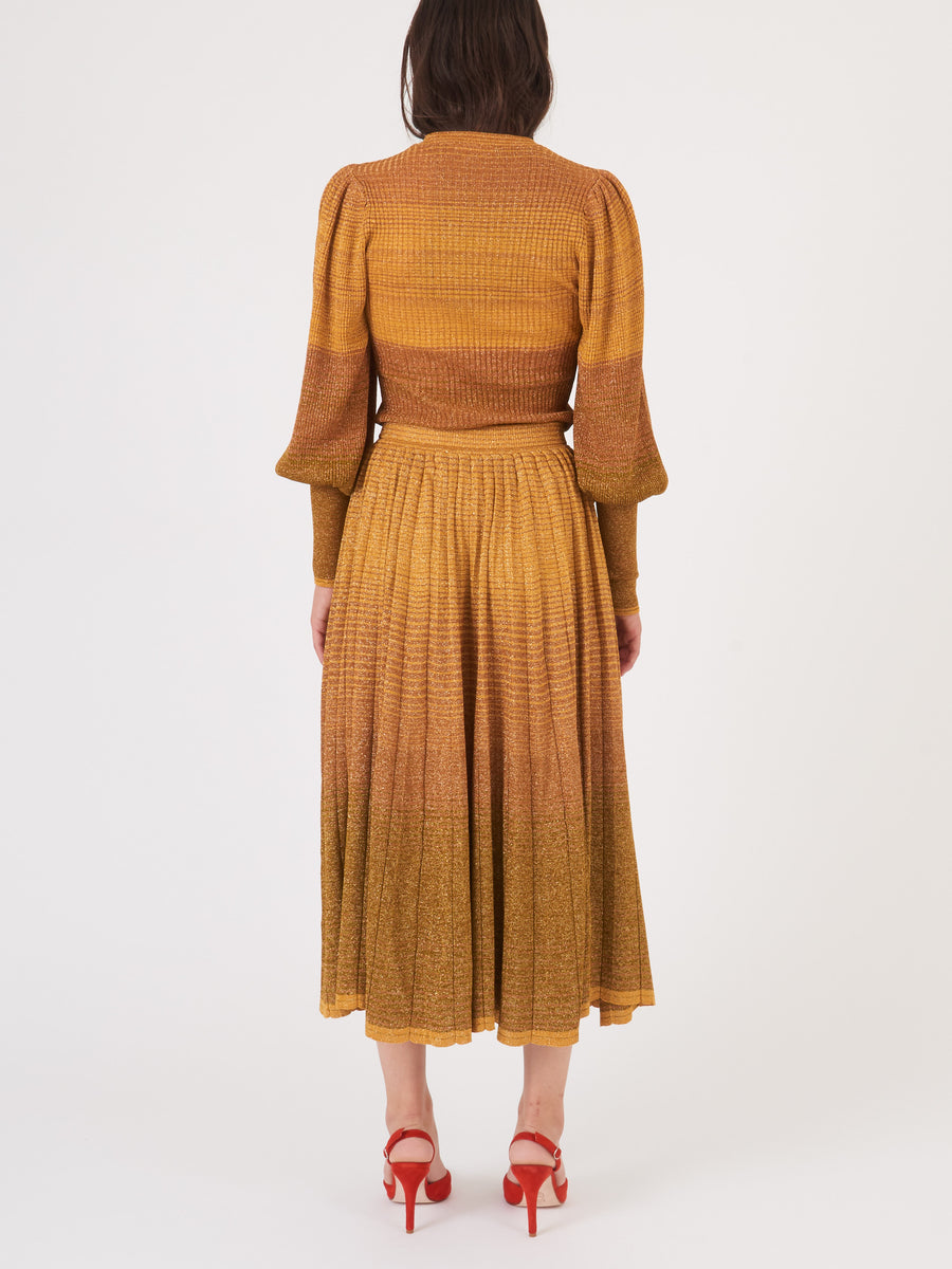 Ulla-Johnson-Gold-Billie-Skirt-on-body