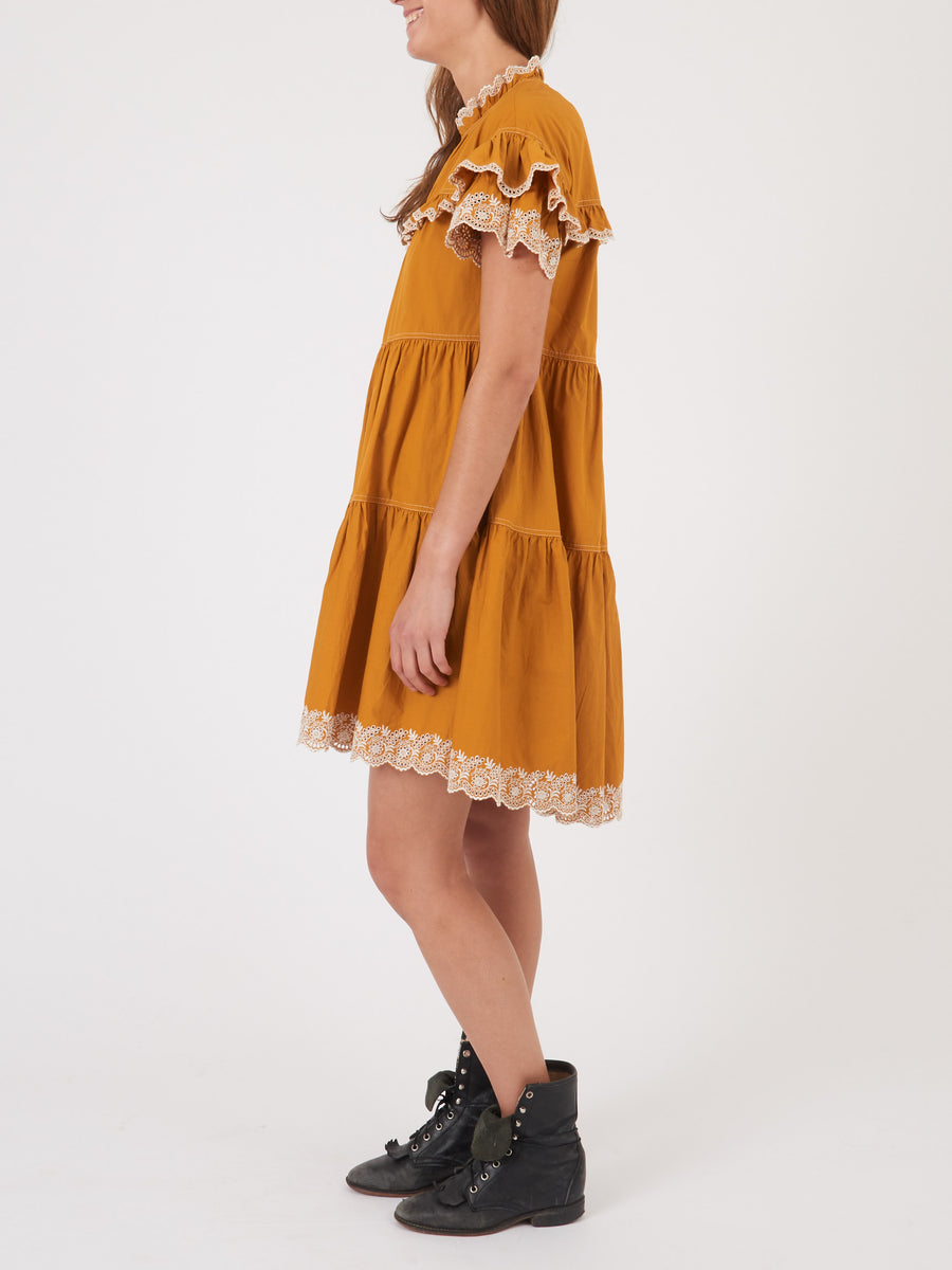 ulla-johnson-ochre-leonie-dress-on-body