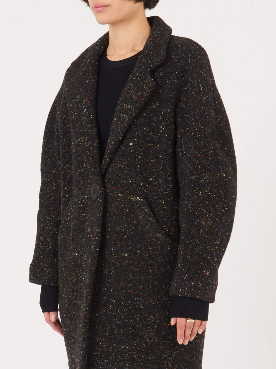 Whit-Black-Multi-Cocoon-Coat-on-body
