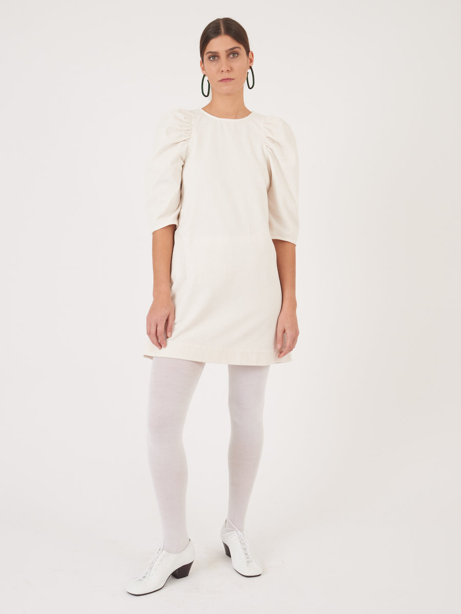Whit-Ivory-Corduroy-Clare-Dress-on-body