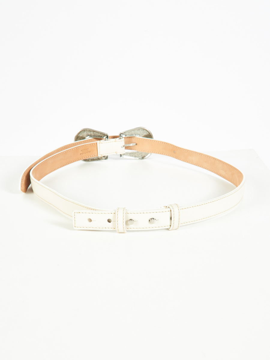 White Awdrey Belt