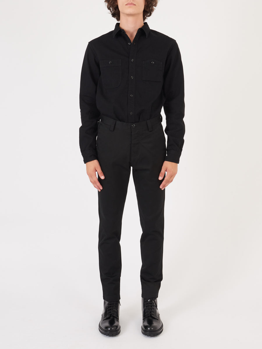 Wings + Horns-Black-Tokyo-Pant-on-body