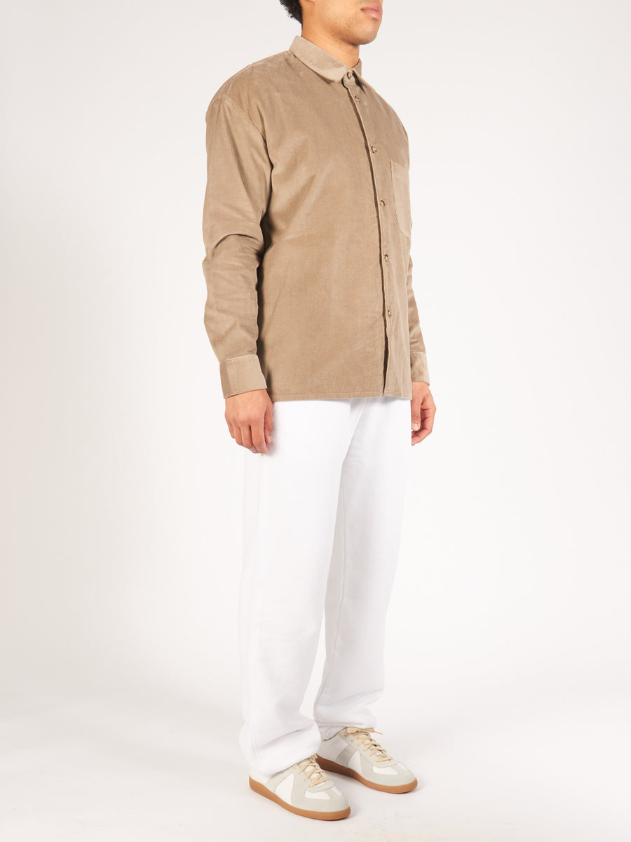 a-kind-of-guise-Beige-Corduroy-Gusto-Shirt