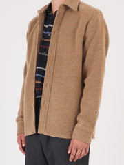 a-kind-of-guise-Brown-Sugar-Dullu-Overshirt-on-body