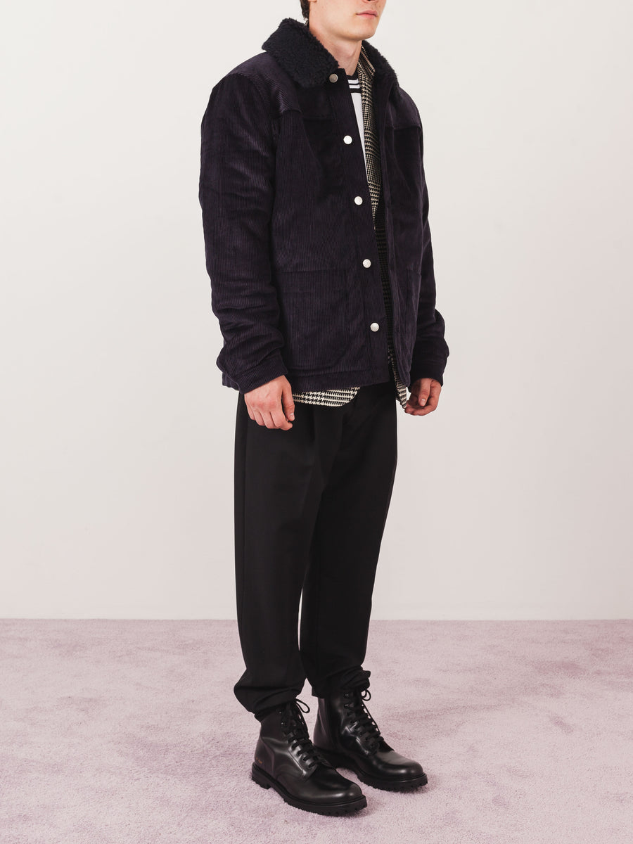 Deep Navy Birat Jacket