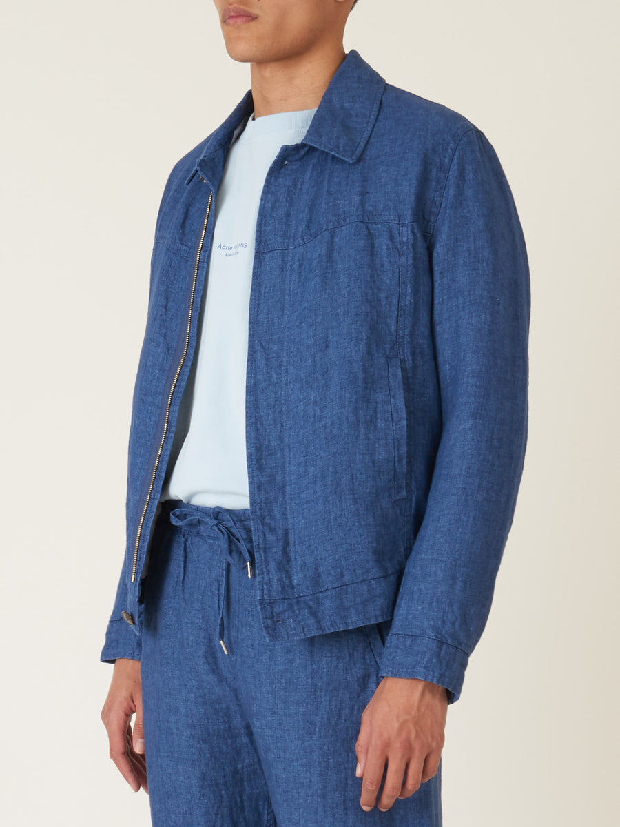 a-kind-of-guise-Indigo-Jambi-Blouson-on-body