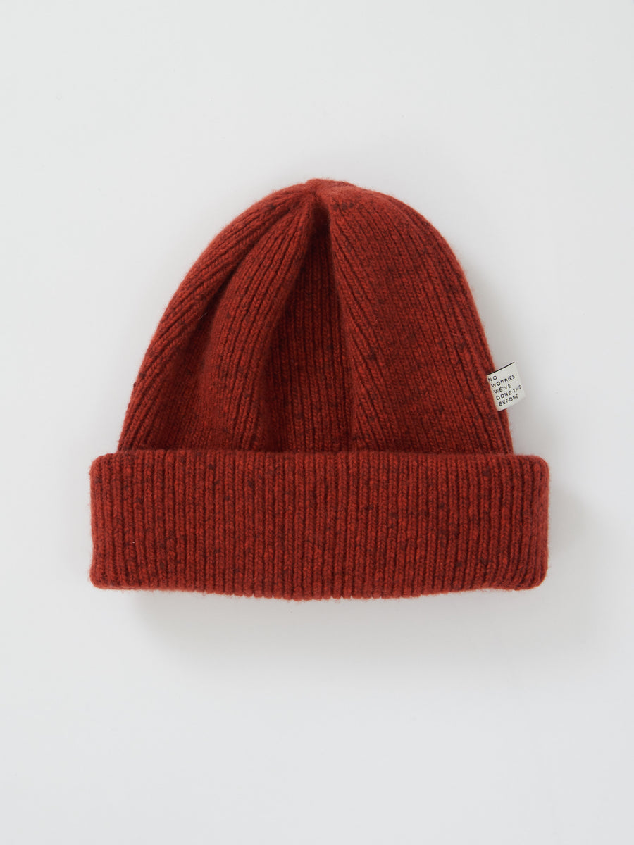 a-kind-of-guise-Rust-Melange-Risoni-Beanie-on-body