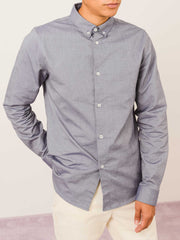 a.p.c.-Dark-Navy-Button-Down-Shirt-on-body