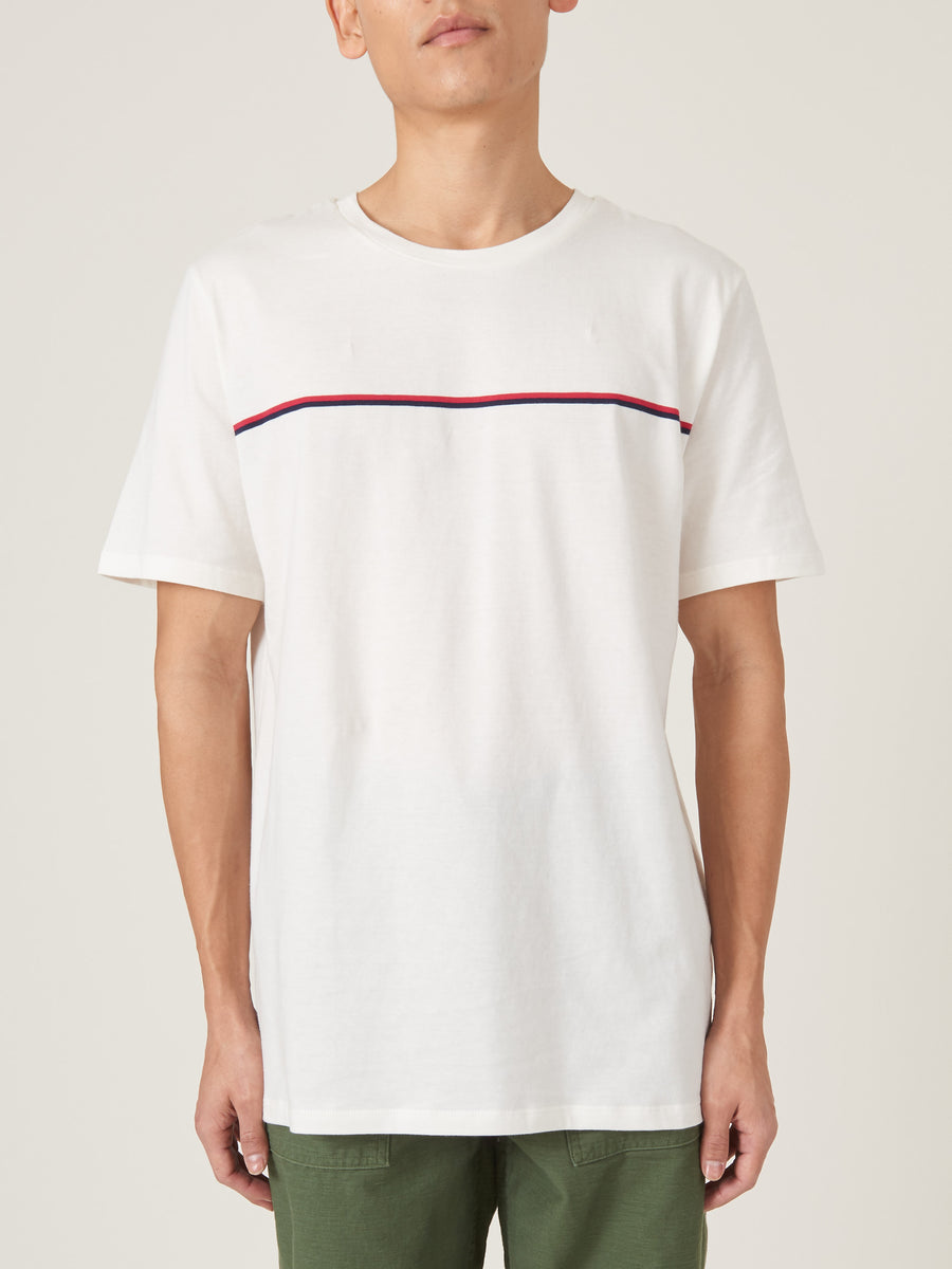 a.p.c.-Ecru-Yukuta-Tee-on-body