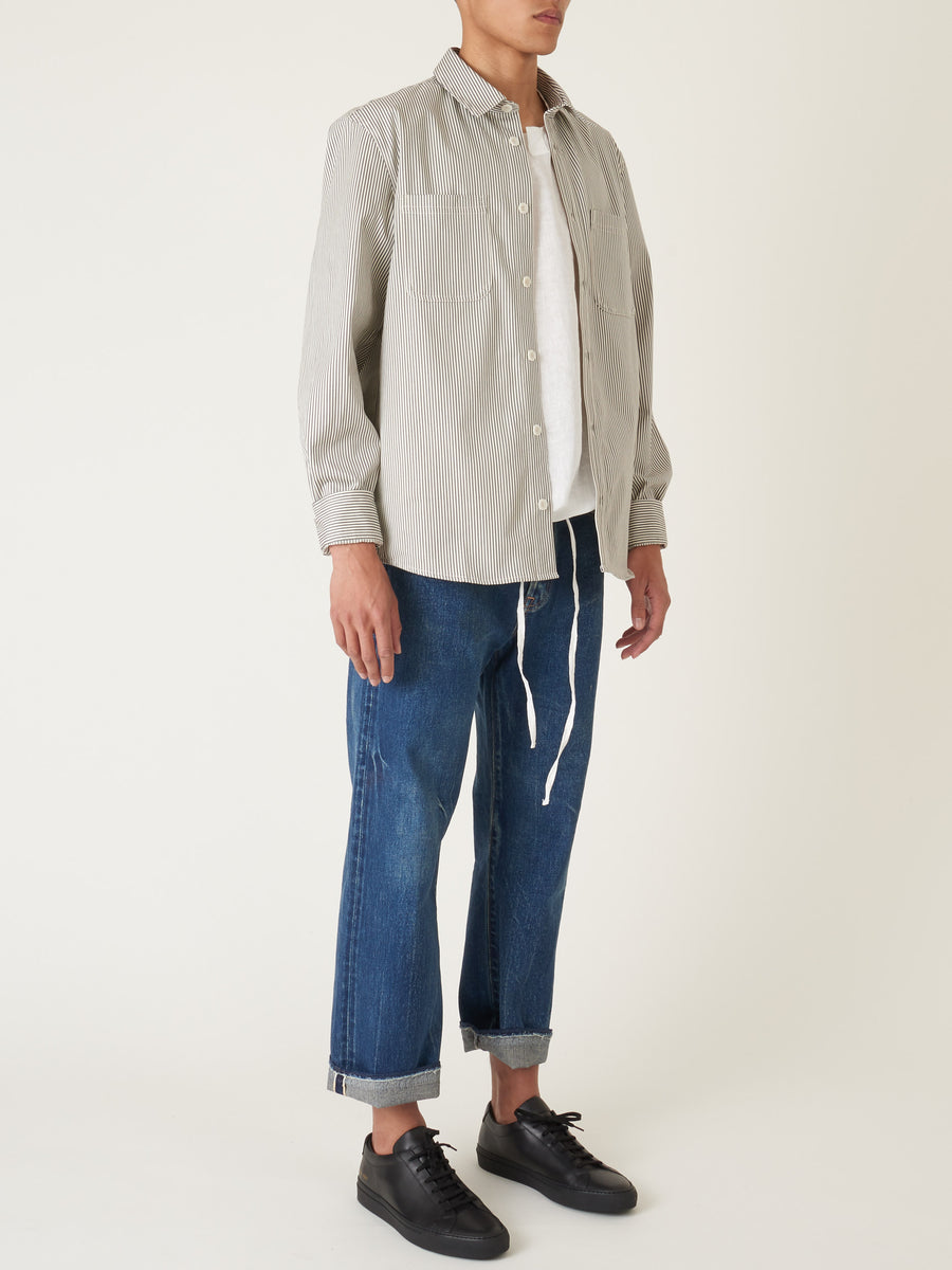 a.p.c.-Grey-David-Overshirt-on-body
