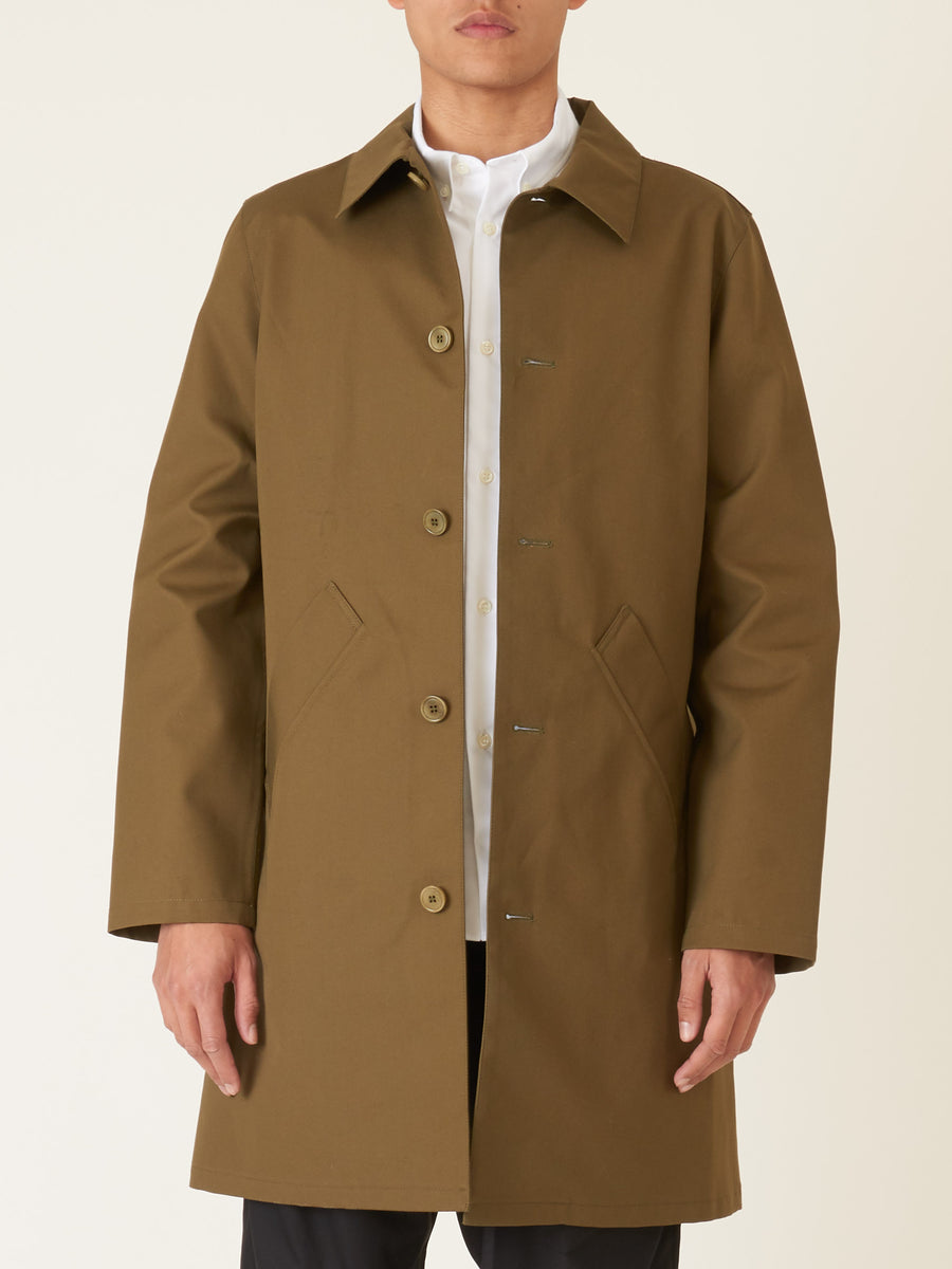 a.p.c.-Kaki-Doctor-Coat-on-body