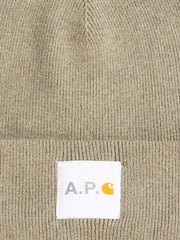 a.p.c.-Light-Kaki Watchtower-Cap