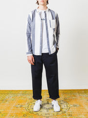 a.p.c.-Marine-Johnny-L/S-Shirt-on-body