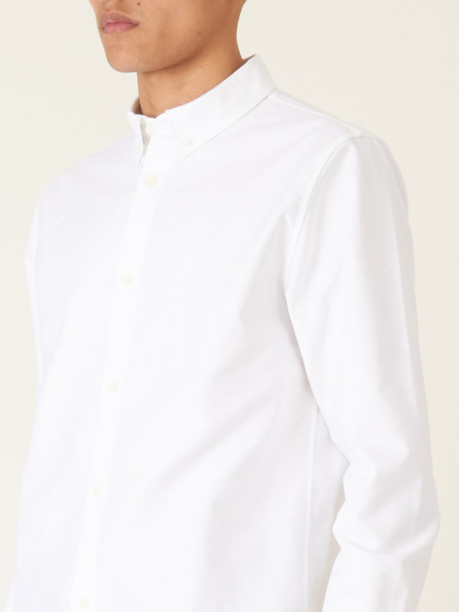 a.p.c.-White-Button-Down-Shirt-on-body