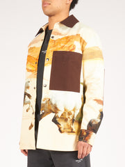acne-studios-Cream-Multi-Osmar-Horse-Shirt-Jacket